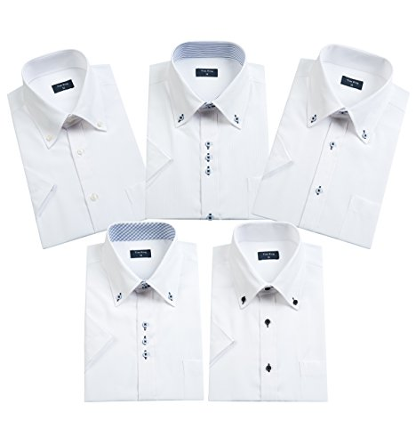 5枚セット 好きなセットが選べる ワイシャツ半袖 メンズ ビジネスシャツ Yシャツ