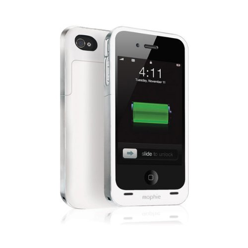 日本正規代理店品mophie juice pack plus for iPhone 4S/4 ホワイト MOP-PH-000022