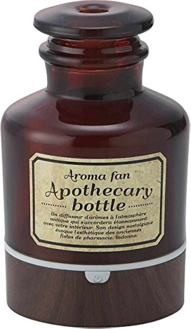 頭敵対的敵ラドンナ アロマディフューザー アポセカリーボトル ADF22-ABM ブラウン