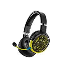 SteelSeries Arctis 1 Wireless Cyberpunk 2077 Limited Edition Gaming Headset -USB-C Wireless -Detachable ClearCast Microphone – Compatible with PC, PS4, Nintendo Switch and Lite, Android – Netrunner