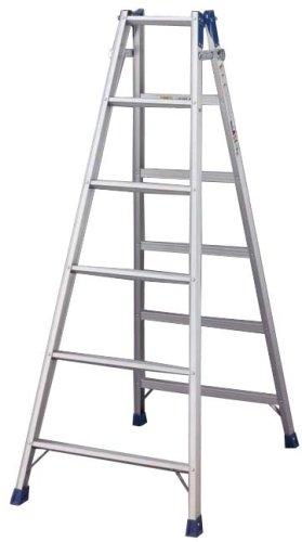 長谷川工業 アルミはしご兼用脚立 1700mm RC20-18/63351897
