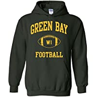 UGP Campus Apparel City Classic Football Arch American Football Team Sports Hoodie