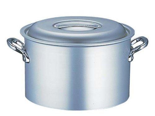 HOKUA(ホクア) マイスター エコクリーン アルミ 半寸胴鍋 21cm AEK0702