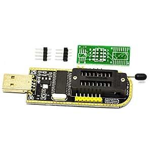 HiLetgo CH341A シリーズ SPI フラッシャー USBプログラマー 24 25 EEPROM BIOS ライター USB to TTL