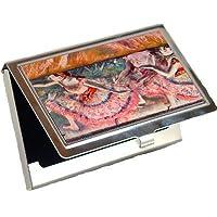 TheカーテンFalls by Edgar Degasビジネスカードホルダー
