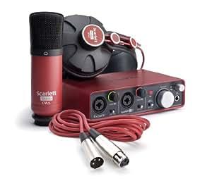 Focusrite DTMセット Scarlett Studio USBオーディオインターフェイス/コンデンサーマイク/モニターヘッドフォン レコーディングパッケージ