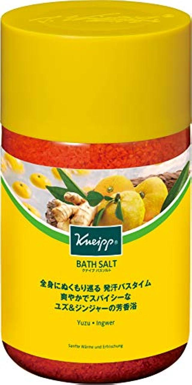 植物学思慮深いクランシークナイプ バスソルト ユズ&ジンジャーの香り 850g