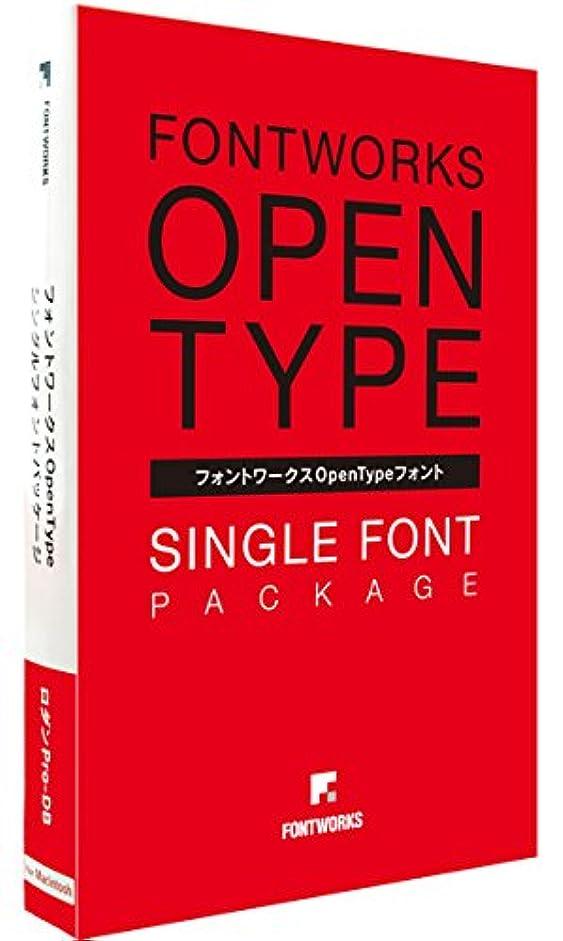 フォントワークス フォントワークスOpenTypeフォント クレーPro-M for Mac