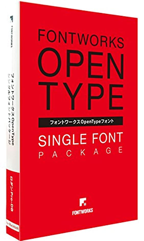 フォントワークス フォントワークスOpenTypeフォント ユトリロPro-M for Mac