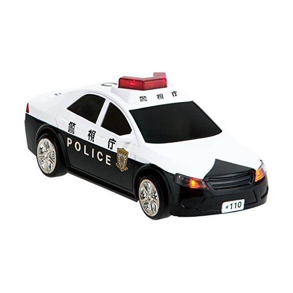 R/C うんてんしちゃお パトロールカーの紹介画像4