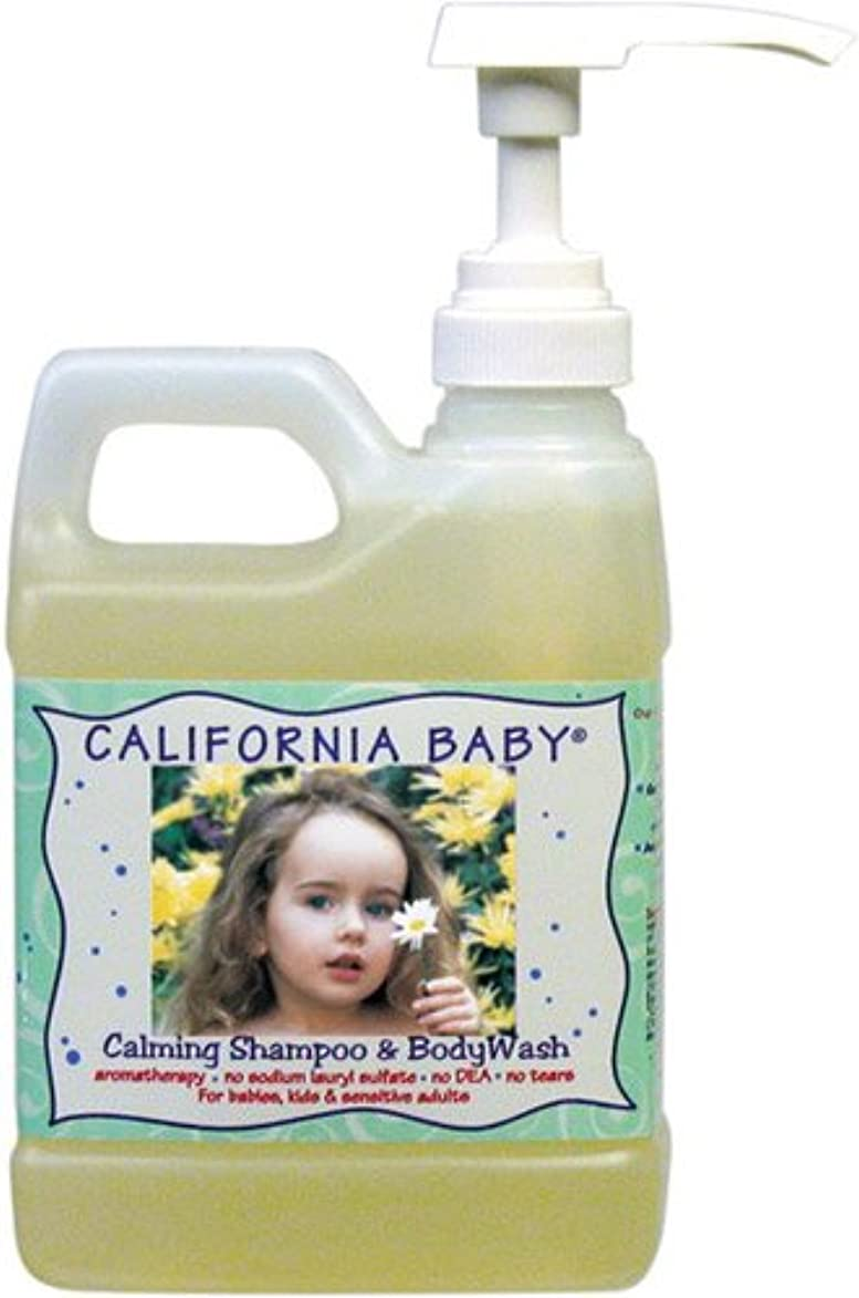 微妙トラフ応じるCalifornia Baby Shampoo & Body Wash - Calming, 17.5 oz by California Baby