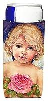"Caroline 's Treasures cdco0249muk "" Little Angel by Debbie Cook "" Ultra Beverage Insulators forスリム缶、マルチカラー"