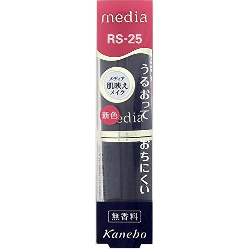 扇動クラッシュ経度カネボウ メディア クリーミィラスティングリップA RS-25