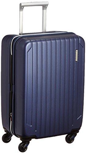 [サンコー] ACTIVE CUBE SKYMAX S スーツケース スカイマックス 大容量 軽量 機内持込 極静キャスター 小型 軽量 容量39L 縦サイズ55cm 重量2.8kg SAAS-50 エンボスネイビー
