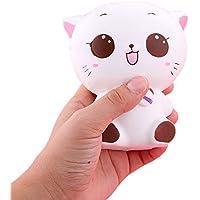 ftxj Squishy Kitty Cat人形Slow Risingソフトピンチstressreliever Kid Toy電話チャーム 11.5*10cm FTXJ -1860511