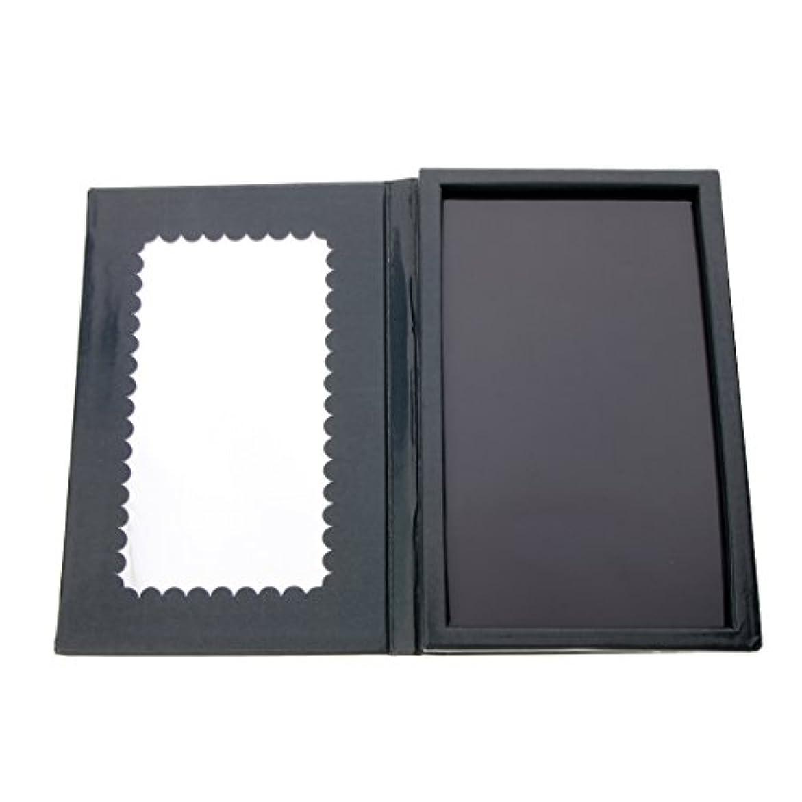 ピックギター大使館メイクアップ 空パレット 磁気パレット 化粧品ケース アイシャドウ パウダー 整理 保管 旅行 便利