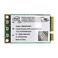 Baoyouls Intel 4965AGN NM1のためのデュアルバンド300Mbps WiFiリンクミニPCI-Eワイヤレスカード