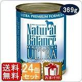 ナチュラルバランス ウルトラプレミアム ドッグ缶フード 369g×24缶セット