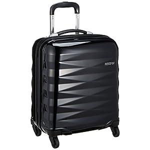 [アメリカンツーリスター] スーツケース Crystalite クリスタライト スピナー50 機内持込可 機内持込可 保証付 32L 50cm 2.8kg R87*09001 09 ブラック