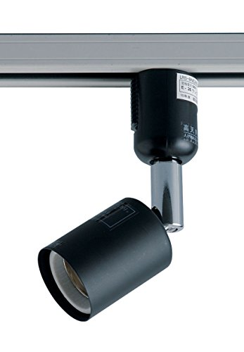 ELPA ライティングバー用スポットライト 電球なし E26 ブラック LRS-BNE26B(BK)