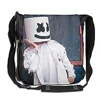 BBWBLbag マシュメロ Marshmello ショルダーバッグ メンズ 斜めがけバッグ ミニワンショルダー バック かばん 多機能 大容量 A4ファイル収納 パソコン タブレット 収納 ユニセックス