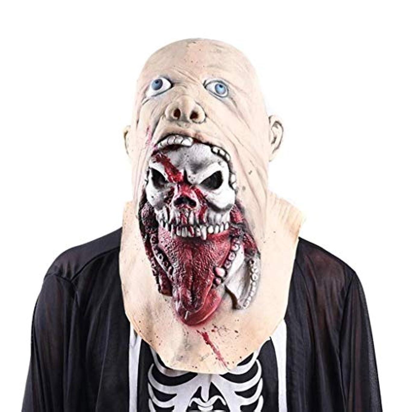 ハロウィーンマスクハロウィーンコスチュームコスプレ用怖いパージマスク
