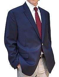 ラルフローレン (LAUREN BY RALPH LAUREN) メンズ 2ボタン ブレザー ジャケット 紺 ネイビー ビジネス カジュアル 秋冬春 [並行輸入品]