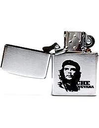 チェゲバラ ライター CHE GUEVARA チェ・ゲバラ オリジナル ZIPPO 200 クロムサテーナ 刻印 革命家 キューバ 英雄 ゲリラ 指導者 反米 ミリタリー刻印 ジッポ ライター スタンダード