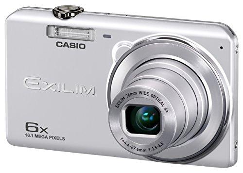CASIO デジタルカメラ EXILIM 広角26mm 光学6倍ズーム EX-ZS29SR シルバー...