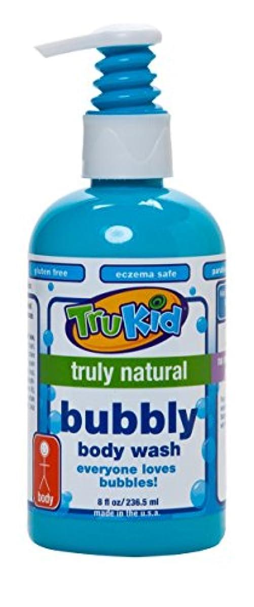へこみ抑制時間とともにTruKid, Bubbly Body Wash, 8 fl oz (236.5 ml)