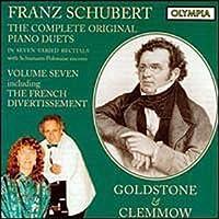 Schubert: The Complete Original Piano Duets, Vol. 7