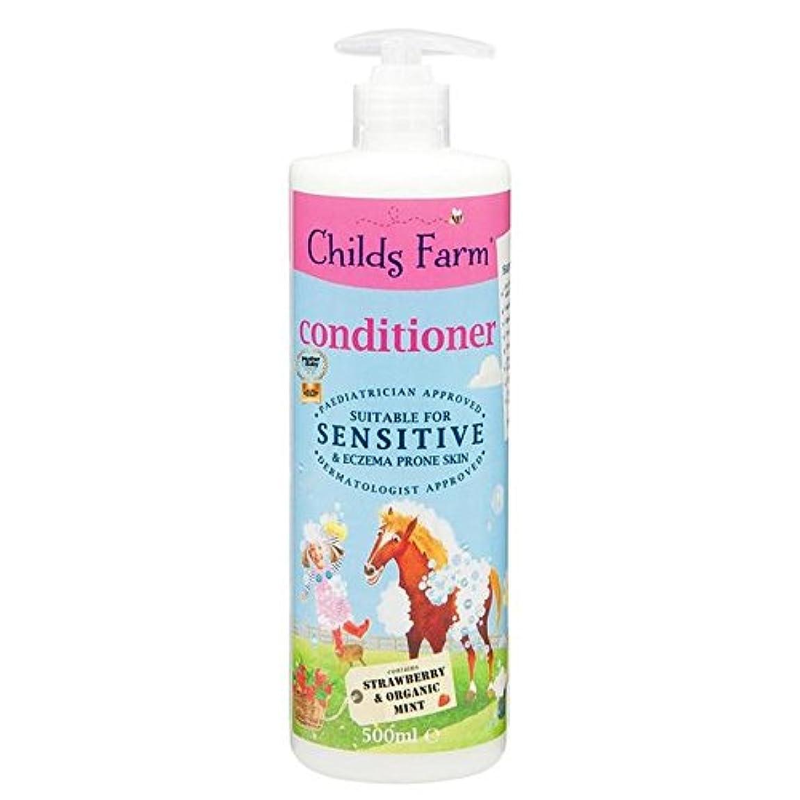 光のモノグラフアイロニーChilds Farm Conditioner for Unruly Hair 500ml (Pack of 6) - 手に負えない髪の500ミリリットルのためのチャイルズファームコンディショナー x6 [並行輸入品]