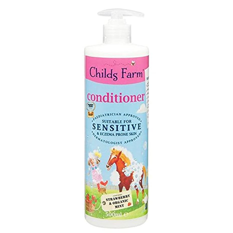 福祉欠員アイスクリーム手に負えない髪の500ミリリットルのためのチャイルズファームコンディショナー x2 - Childs Farm Conditioner for Unruly Hair 500ml (Pack of 2) [並行輸入品]