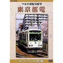 マルチ運転室展望 東京都電 [DVD]