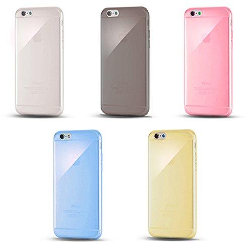 iPhone6 4.7用 極薄TPUクリアケース スマホケー...