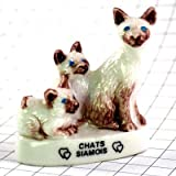 限定 フェーブ フェブ?シャム猫のお母さんと子猫たち ガレット デ ロワ FEVE フランス