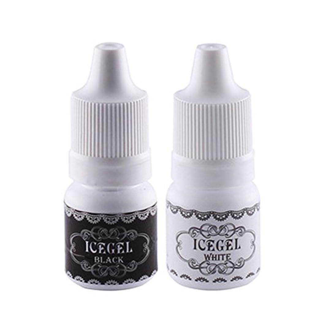 タップ療法ミンチアートペン用インク ホワイト&ブラック