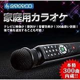 カラオケマイク | カラオケ道場 DCT-300 | 300曲内蔵 | 楽器変換機能搭載