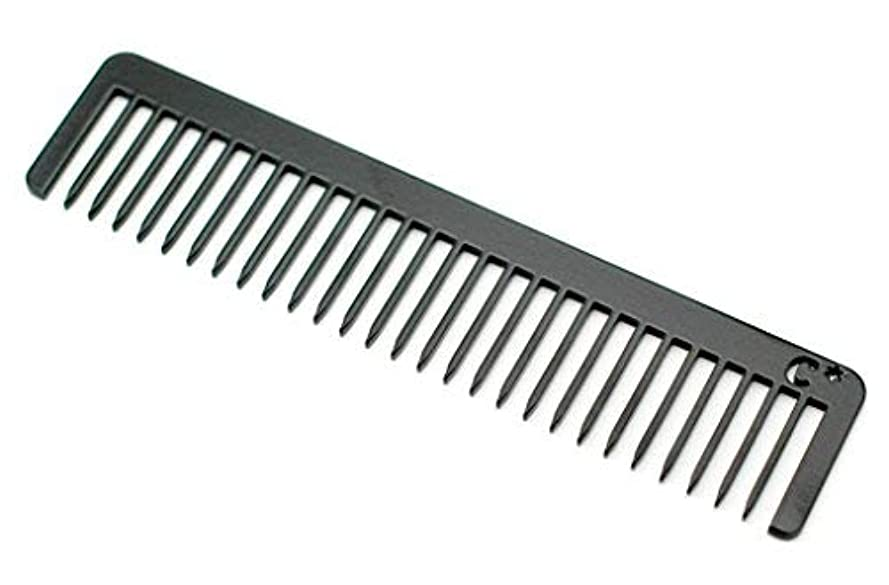 レイア雹ライバルChicago Comb Long Model No. 5 Jet Black, 5.5 inches (14 cm) long, Made in USA, wide-tooth comb, ultra smooth coated...