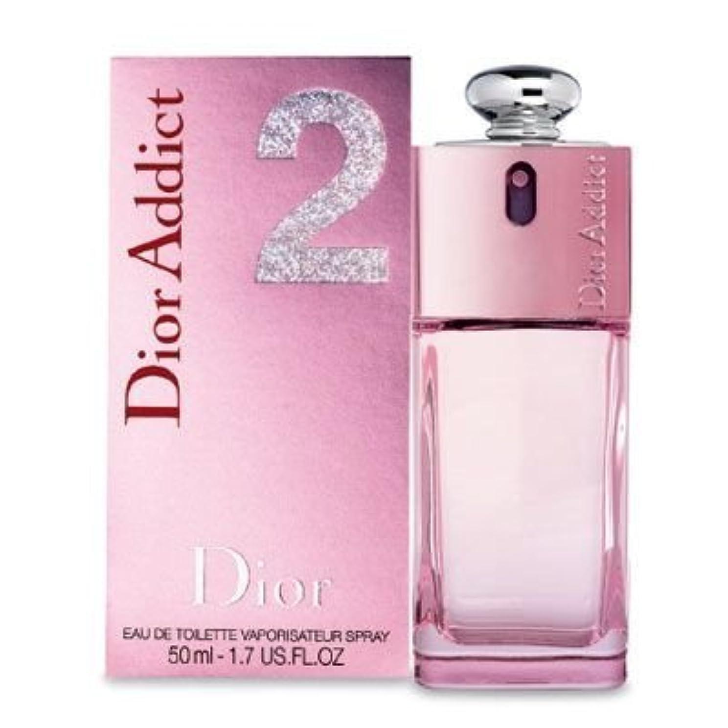 チューインガム同情的そんなにChristian Dior(クリスチャン ディオール) アディクト 2 EDT SP 50ML