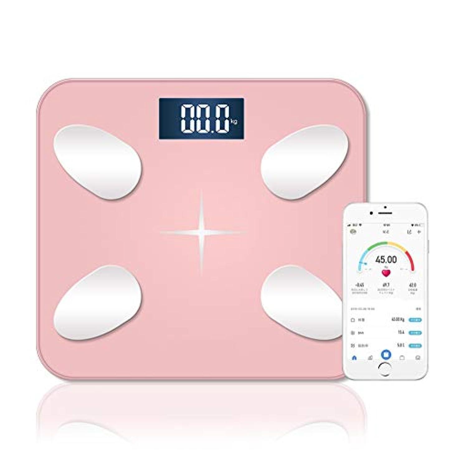 コメント南極みなさん体重計体脂肪計体組成計健康計Bluetooth LCDデジタルディスプレイ強化ガラス高精度センサースマート体重計/体脂肪率/BMI/BMR/体水分/骨量/骨格筋測定健康管理Bluetooth対応iOS/Androidアプリケーション多機能小型USB充電家庭健康管理と日本語マニュアルピンク