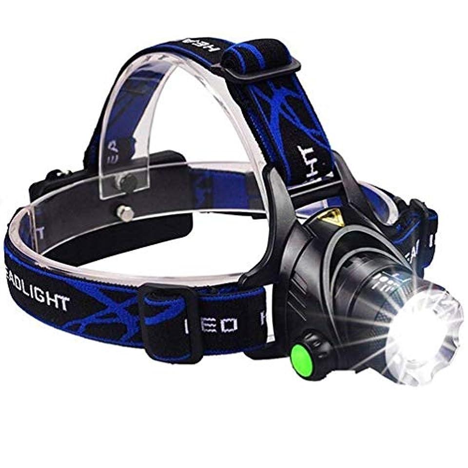 インペリアルあらゆる種類の一方、Yurroad CREE XM-L2 T6 LED ヘッドライト超高輝度 3000ルーメン 3つのモードズーム可能 ランプ 再充電可能な プロの釣り灯 夜の光 (ヘッドライト)