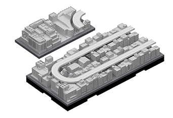 日本卓上開発 ジオクレイパー 拡張ユニット #004 高速道路セット