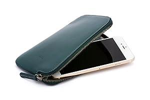 Bellroy レザ ー Phone Pocket Plus ウォレット Teal
