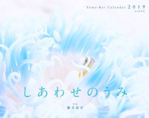 カレンダー2019 しあわせのうみ (ヤマケイカレンダー2019)