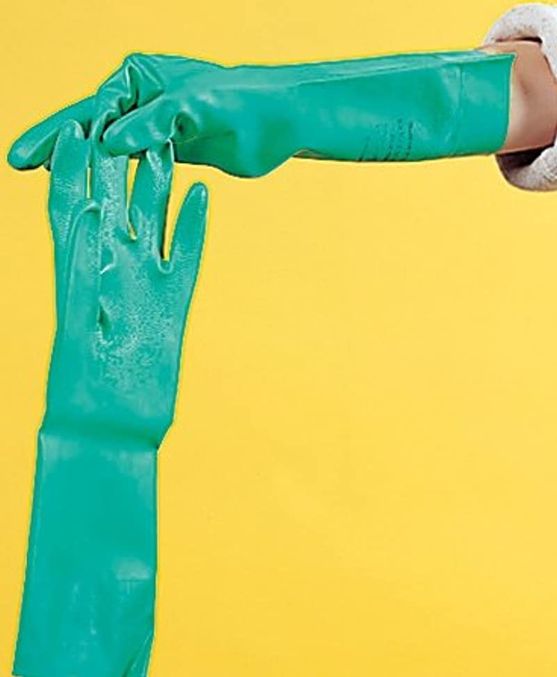 ポーン正午メタルラインゴム手袋 ニトリル M 1組