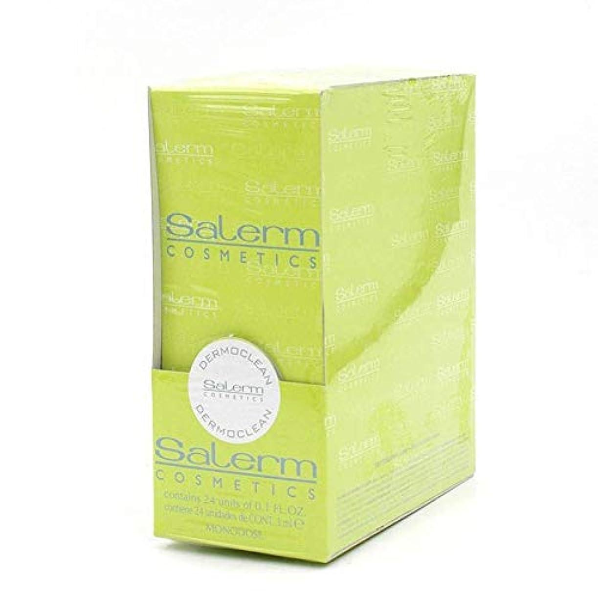 不良品死にかけている放射性Salerm 化粧品Dermoclean処理 - 1パックX 0.1オンス
