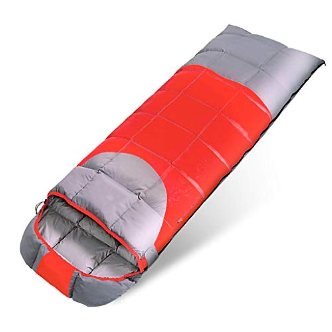ドーム計画技術的な寝袋屋外キャンプ大人屋内ランチブレイクホテルでライナー分離汚れたポータブル(適切な-10°C-15°C) (色 : C)