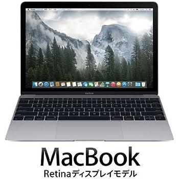 APPLE MacBook (1.2GHzデュアルコア Intel CoreMプロセッサ/12型/8GB/512GB/USB-C/スペースグレイ) MJY42J/A