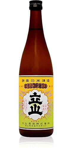 立山酒造 銀嶺立山 純米酒 720ml [富山県]